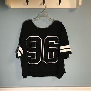 """Streetwear society """"96"""" cropped top"""